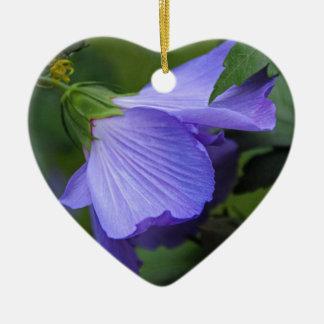 Beneath the Willow Ceramic Heart Decoration