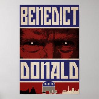 """Benedict Donald"" Poster"