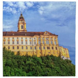 Benedictine abbey, Melk, Austria Napkin