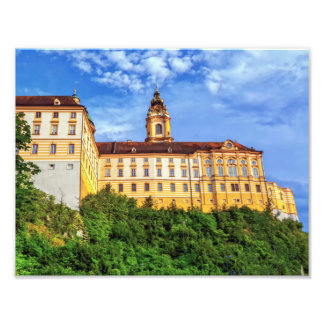 Benedictine abbey, Melk, Austria Photo Print
