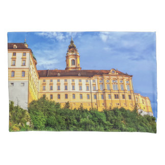 Benedictine abbey, Melk, Austria Pillowcase