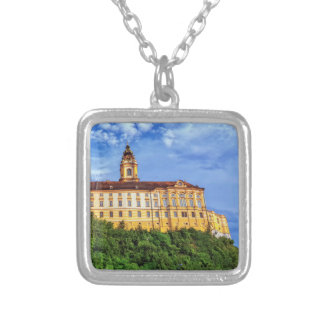 Benedictine abbey, Melk, Austria Silver Plated Necklace