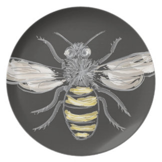 Beneficial Bumblebees Dinner Plate