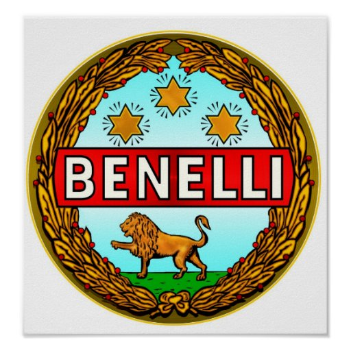 Benelli Motorcycles logo Poster