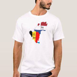 Benelux map T-Shirt