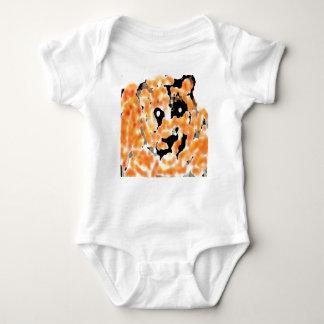 Bengal baby tiger baby bodysuit