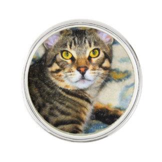 Bengal Cat Art Lapel Pin