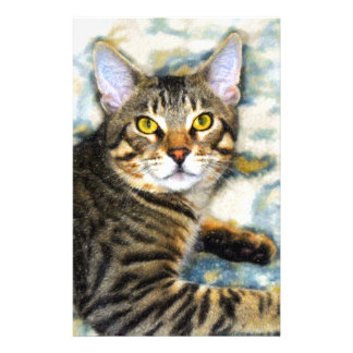 Bengal Cat Art Stationery