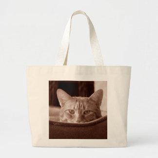 Bengal Cat Jumbo Tote Tote Bag