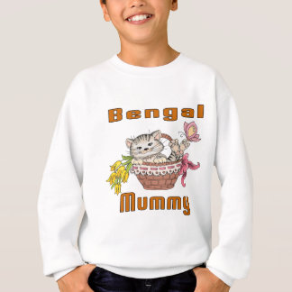 Bengal Cat Mom Sweatshirt