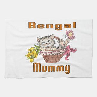 Bengal Cat Mom Tea Towel