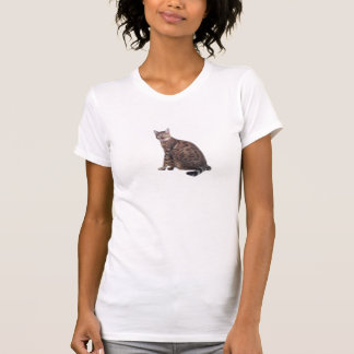 Bengal Cat Print Tshirt