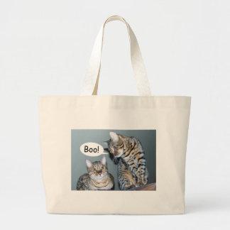 Bengal Cats Large Tote Bag