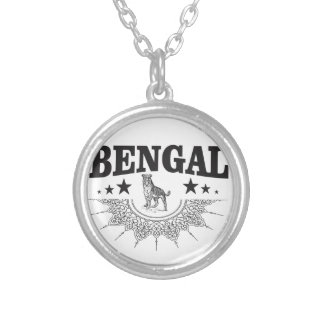 Bengal country silver plated necklace