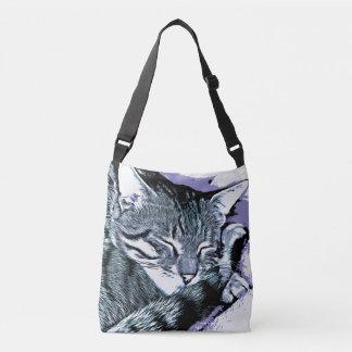 Bengal Kitten Nap Crossbody Bag
