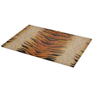 Bengal Tiger Animal Fur Cutting Board