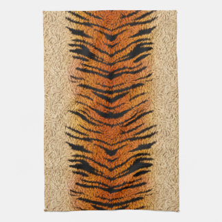 Bengal Tiger Animal Fur Tea Towel