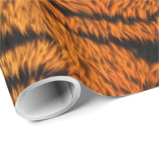 Bengal Tiger Animal Fur Wrapping Paper