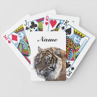 Bengal Tiger Bicycle Playing Cards