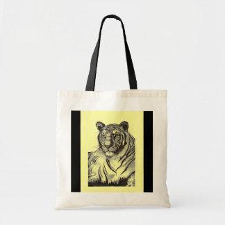 Bengal Tiger Budget Tote
