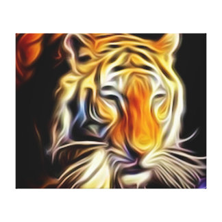 Bengal Tiger Stretched Canvas Print