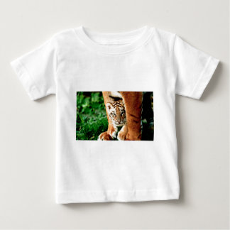 Bengal Tiger Cub Peers Out Baby T-Shirt