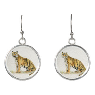 Bengal Tiger Earrings