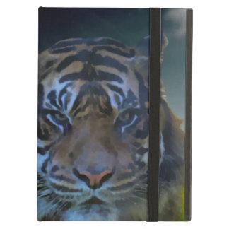 Bengal Tiger Face Watercolor Wildlife iPad Air Case