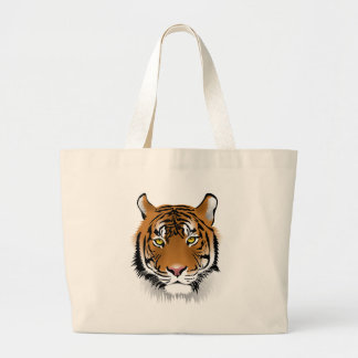 Bengal Tiger Large Tote Bag