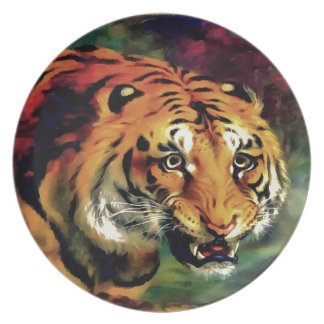 Bengal Tiger Party Plates