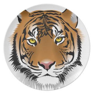 Bengal Tiger Plates