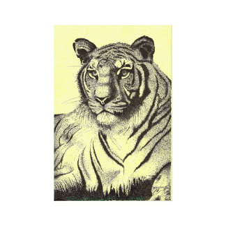 Bengal Tiger Premium Wrapped Canvas