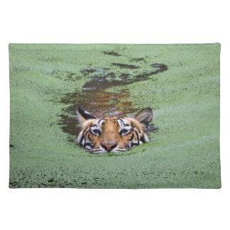 Bengal Tiger Swimming Placemat