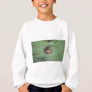Bengal Tiger Swimming Sweatshirt