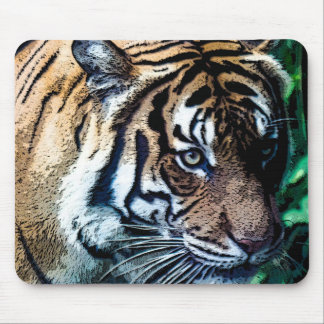 Bengal Tiger Toons Mouse Pad