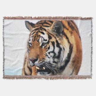Bengal Tigers Wild Life Throw Blanket