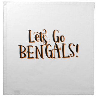 Bengals Print Napkin