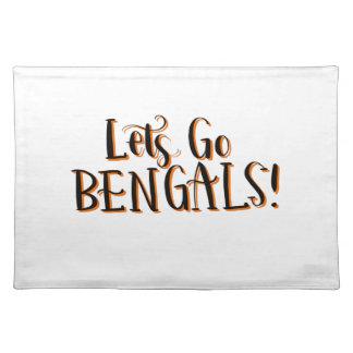 Bengals Print Placemat