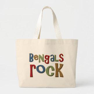 Bengals Rock Tote Bags