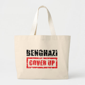 Benghazi Cover Up Jumbo Tote Bag