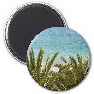 Benidorm Beach 6 Cm Round Magnet