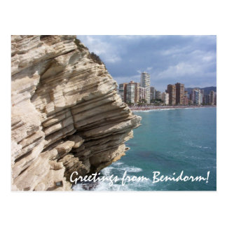 Benidorm Costa Blanca Spain Postcard