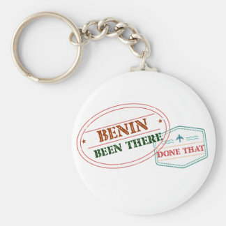 Benin Been There Done That Key Ring