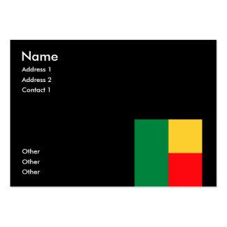 Benin Business Cards