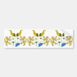 benin emblem bumper sticker