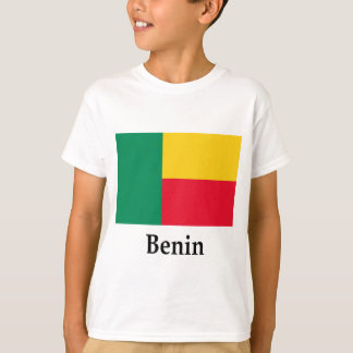 Benin Flag And Name T-Shirt