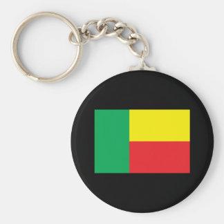 Benin Flag Key Ring