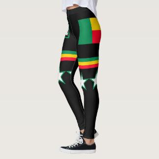 Benin Flag Leggings