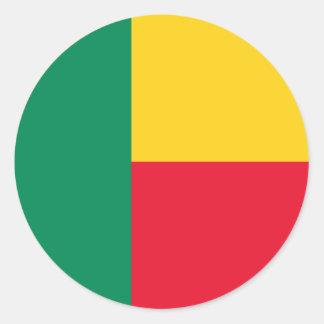 Benin Flag Sticker