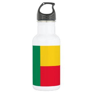 Benin National World Flag 532 Ml Water Bottle